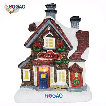 Christmas Houses Village.Factory Direct Sale Custom Cheap Special Cool Led Christmas Village Houses Resin For Home Decoration Lighting Buy Christmas Village Houses