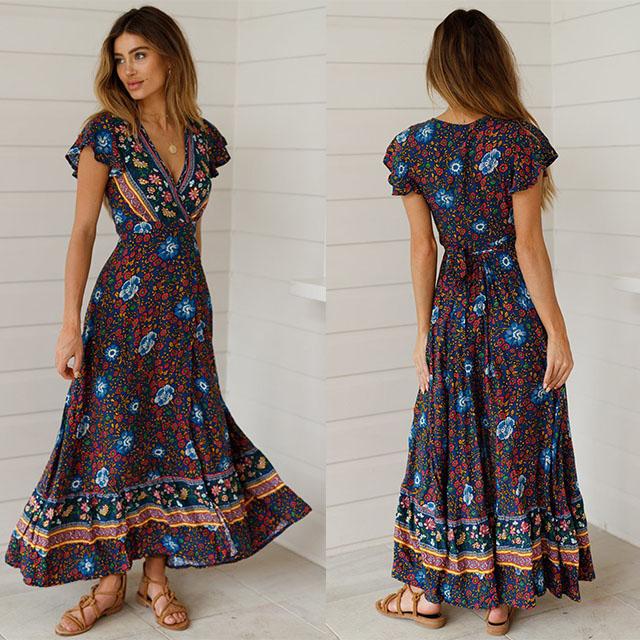 64aba4e72 China maxi dress boho wholesale 🇨🇳 - Alibaba