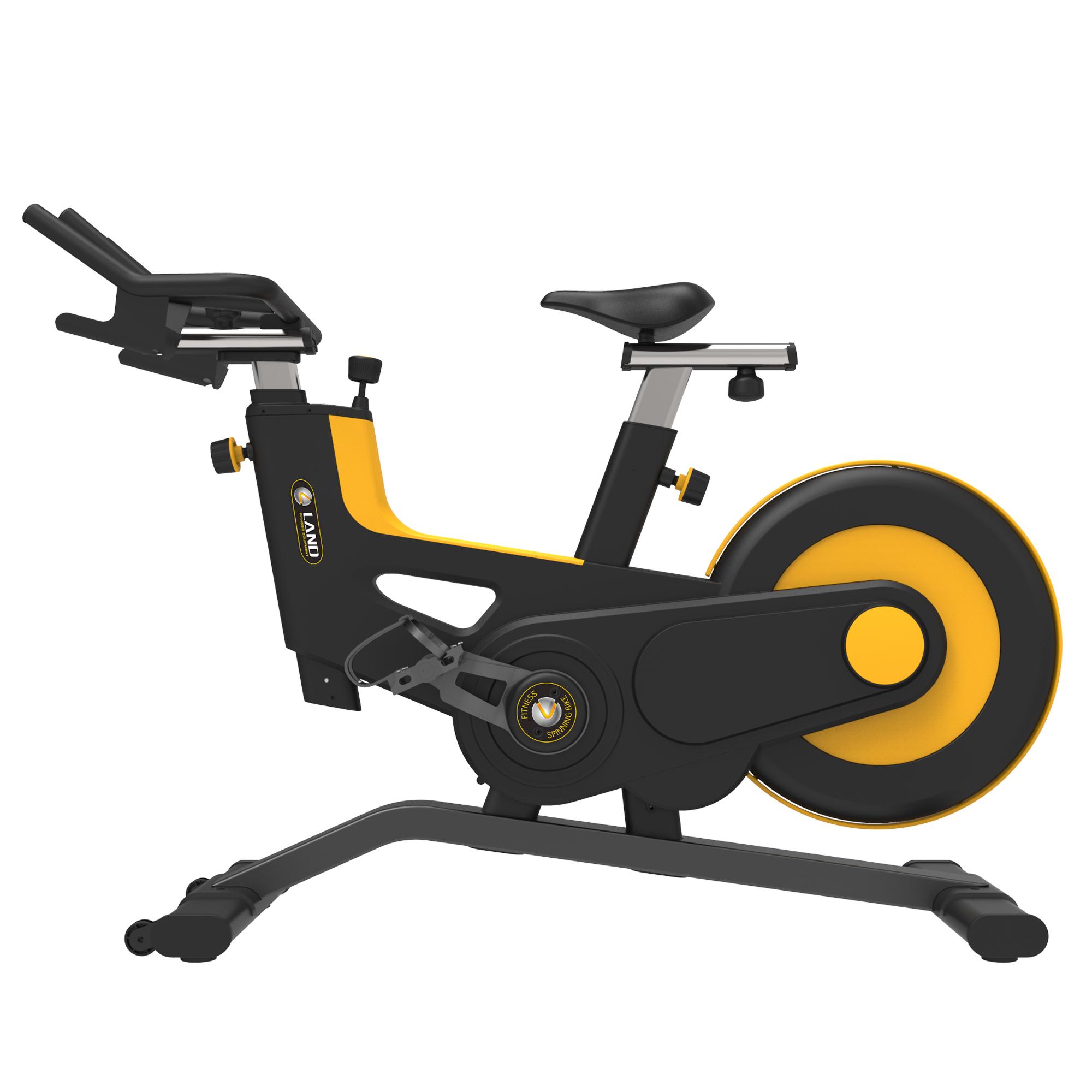 Новый спиннинг велосипед для тренажерного зала Супер Бесшумный Пояс Велотренажер для тренажерного зала спиннинг велосипеды