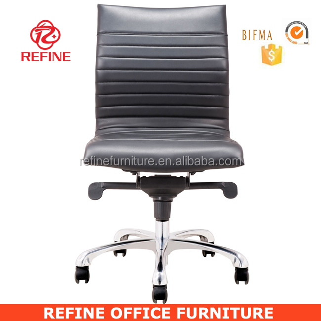 Modern Leather Armless Desk Chair For Hotel No Arms Rf S076m   Buy Armless  Desk Chair,Armless Desk Chair,Armless Desk Chair Product On Alibaba.com