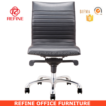 modern leather armless desk chair for hotel no arms rf s076m buy