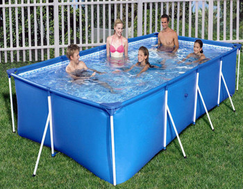 Bestway Above Ground Swimming Pool 56405 Inflatable Water Tank Steel Pool  For Homes - Buy Swimming Pool Above Ground,Inflatable Water Tank  Pool,Family ...