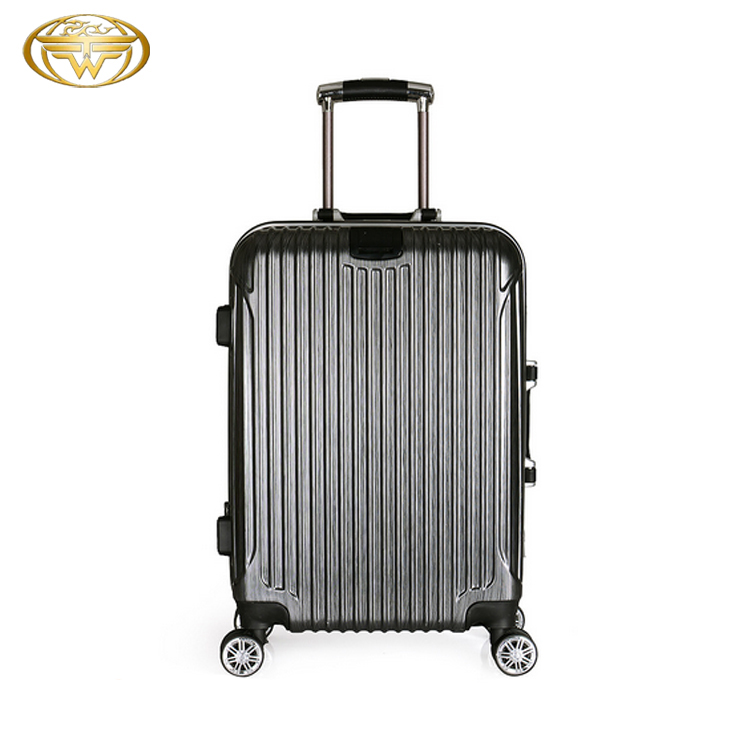 2017 Aluminum 22/26 Inch Abs Custom Design Airport Luggage Travelling Bags Luggage Trolley