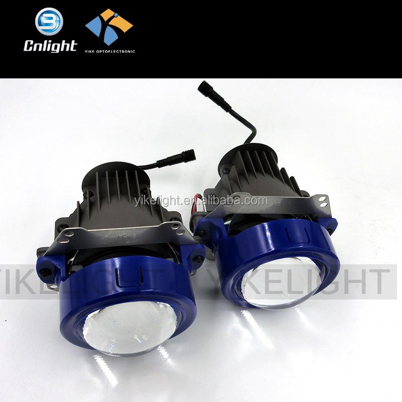 2016 Newest 15000 lumens Hi Lo Beam Bi-LED Lens replace hid xenon kits ECE R112 Approval projector headlights angel eyes