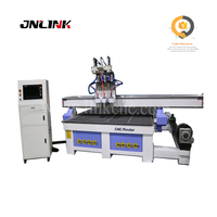 Top sale !! 3 spindles and driver motors 3d wood carving cnc machine router