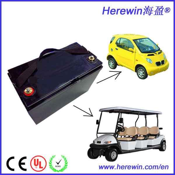 New products 2016 high demand 36v 12ah electric golf trolley lithium battery