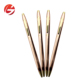 Slim Rose Gold Ballpoint Pens Luxury Metal Fancy Lightweight Office School Education Supplies Business Stationery Pen