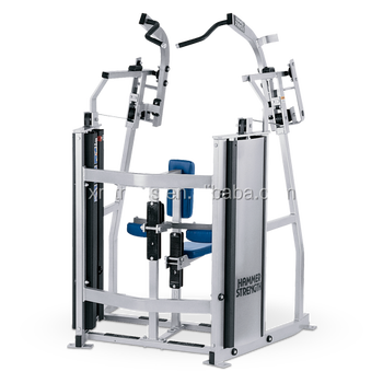 Hot Sale Gym Equipment Names Hammer Strength Iso Lateral Front Pulldown