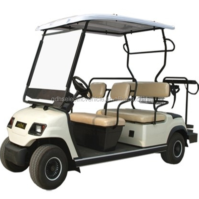 4 Seater Cheap Electric Golf Cart Classic Golf Club Car For Sale