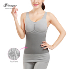 Natural Bamboo Slim Shaper Full Body Suit Corset Tummy Shapewear