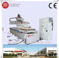 woodworking multiple functions CNC machine with Range Drill and HSD spindle/japan JASKAMA servo/SYNTEC control system