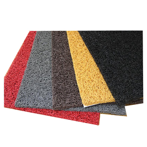 PVC Coil Mat red colors for stairs