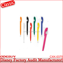Disney Universal NBCU FAMA BSCI GSV Carrefour Factory Audit Manufacturer Promotional Flashlight Ballpoint Pen