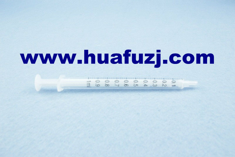 New Products China Supplier 2part disposable syringe 2mL