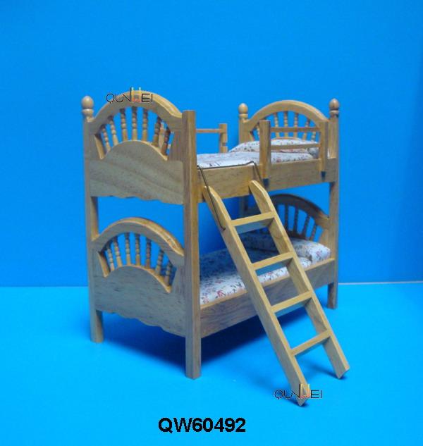 Craft Casa delle Bambole Miniatura Sala da pranzo in legno//tavolo da cucina