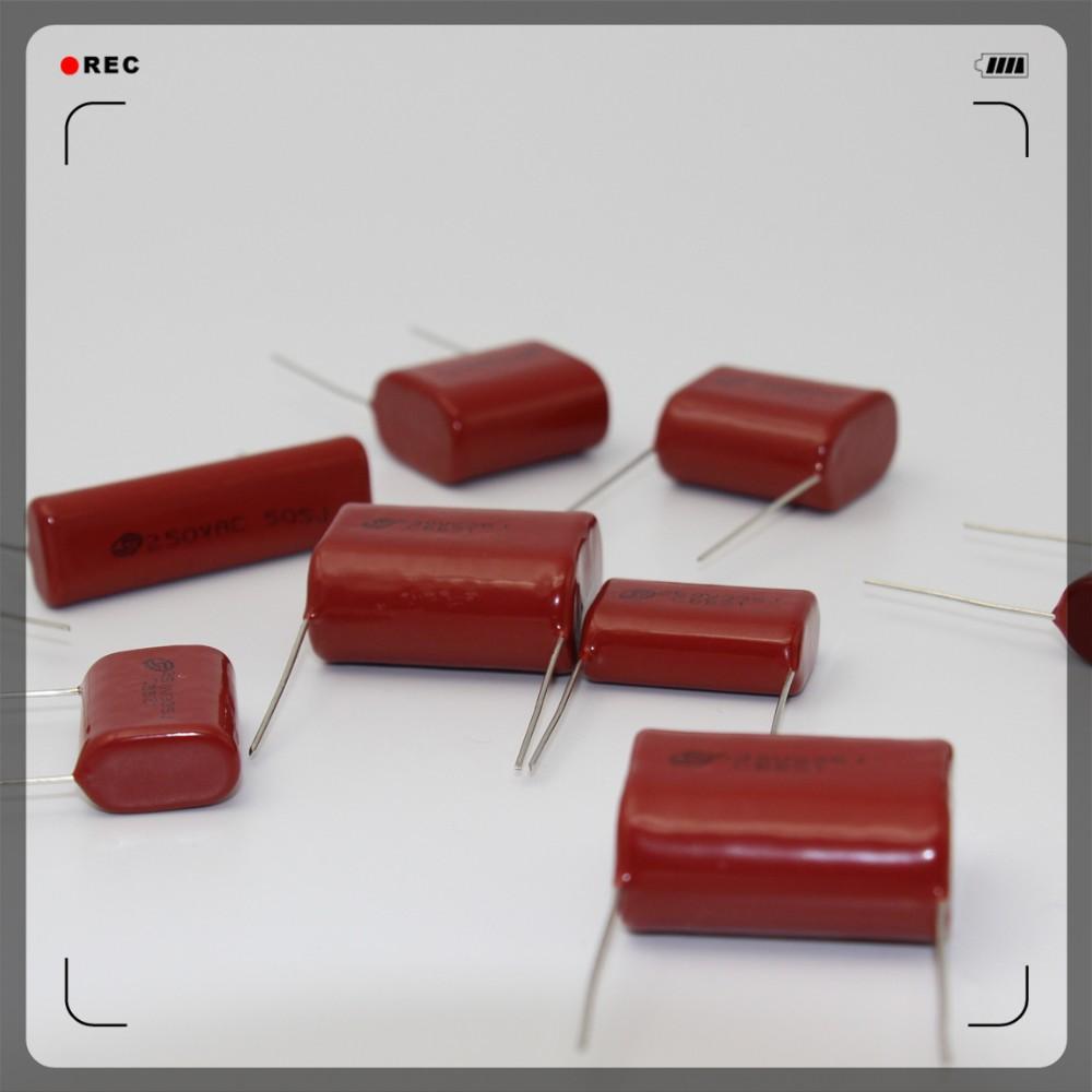 Film Capacitor Cl21 Cbb21 Cbb22 104k 105k 155k 250v 400v