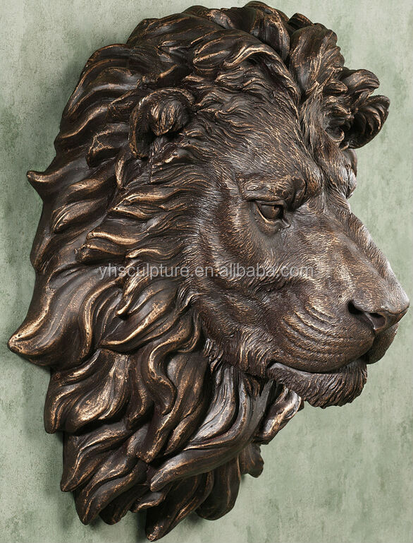 Hanging Bronze Lion Head Wall Fountain Buy Lion Head