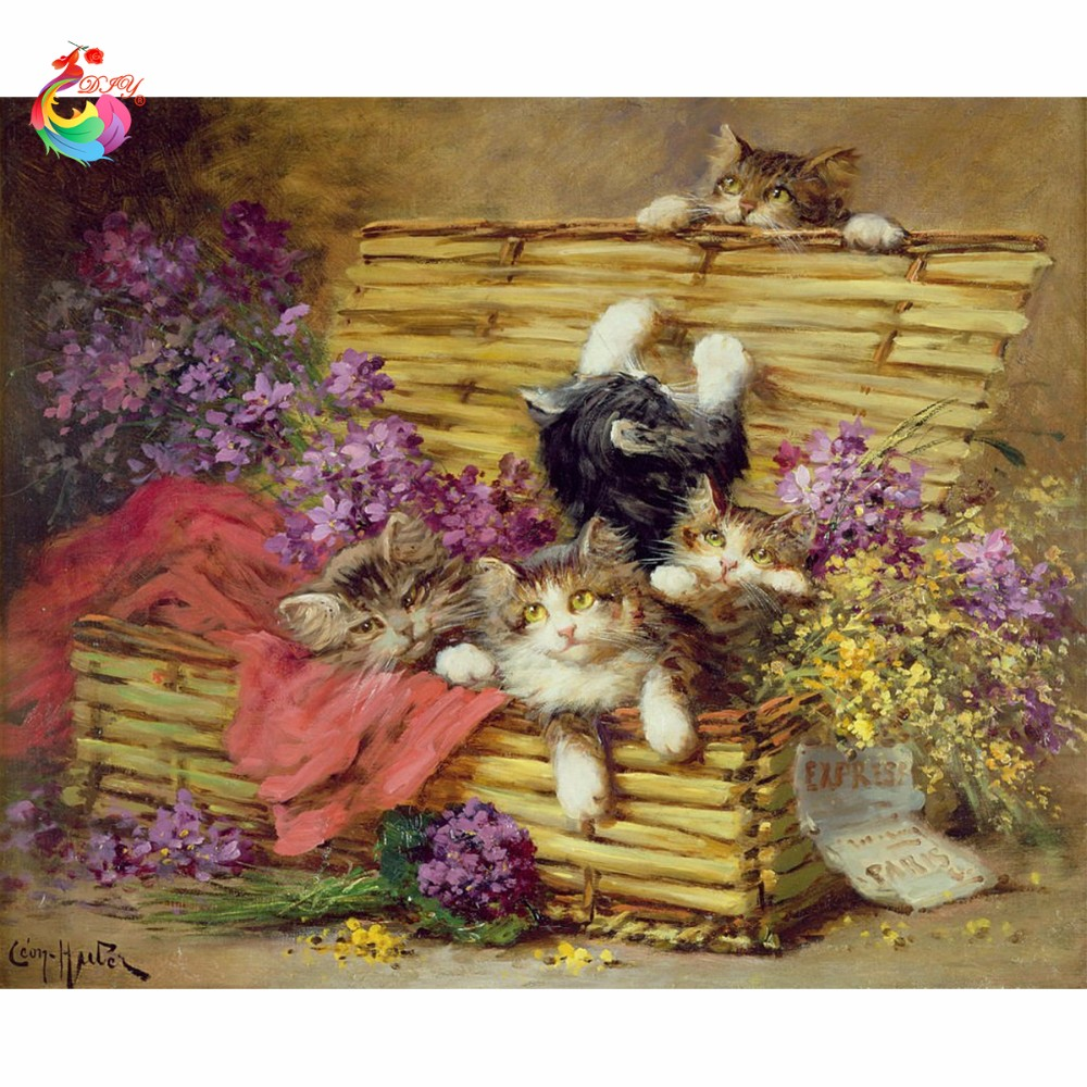 CAT GROUP diy 5d diamond painting cubo rubik pictures of diamonds diamond  embroidery cat 3D diamond embroidery hobby CAT 1ac1e7bd52