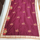 plain satin silk sarees
