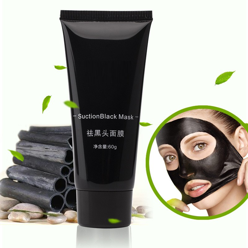 Pores Cleaning Blackhead Remover Bamboo Charcoal Peel Off Black Mask
