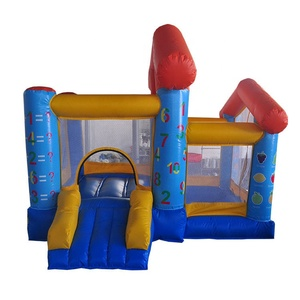 Factory price high quality kids home inflatable combo bouncer water inflatable trampoline bouncer with blower