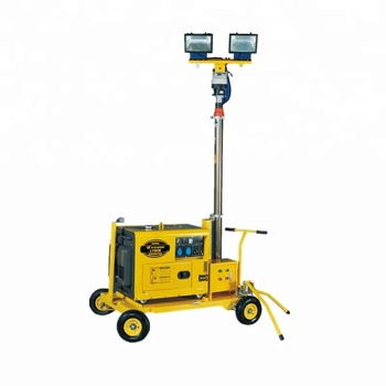 China Manufacture Portable Lighting Tower Generator Product On Alibaba