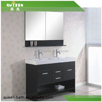 Queen-bath JR-6003 Hangzhou high quality low price Aluminum wall mounted bathroom vanity cabinet