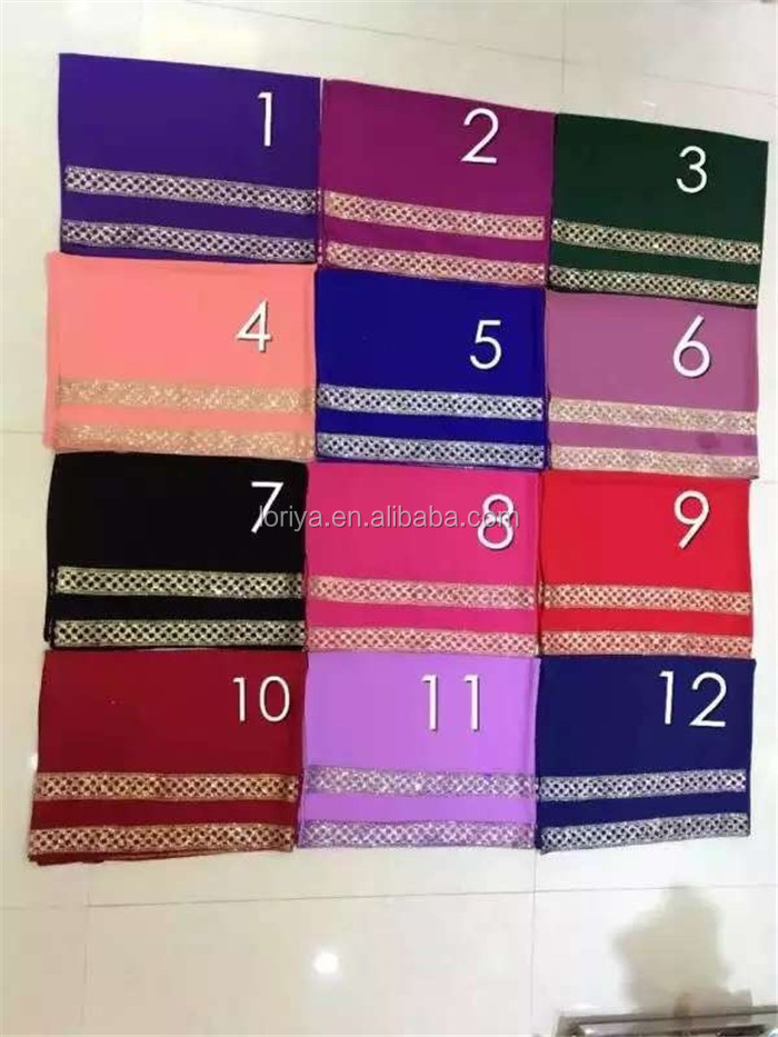 Wholesale new arrival cheap price chiffon muslim hijab