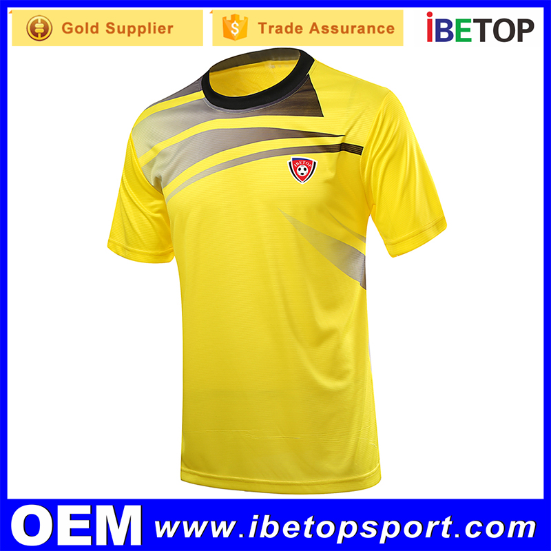 Embroidery Thai quality printing custom soccer jersey in customized design in your own logo