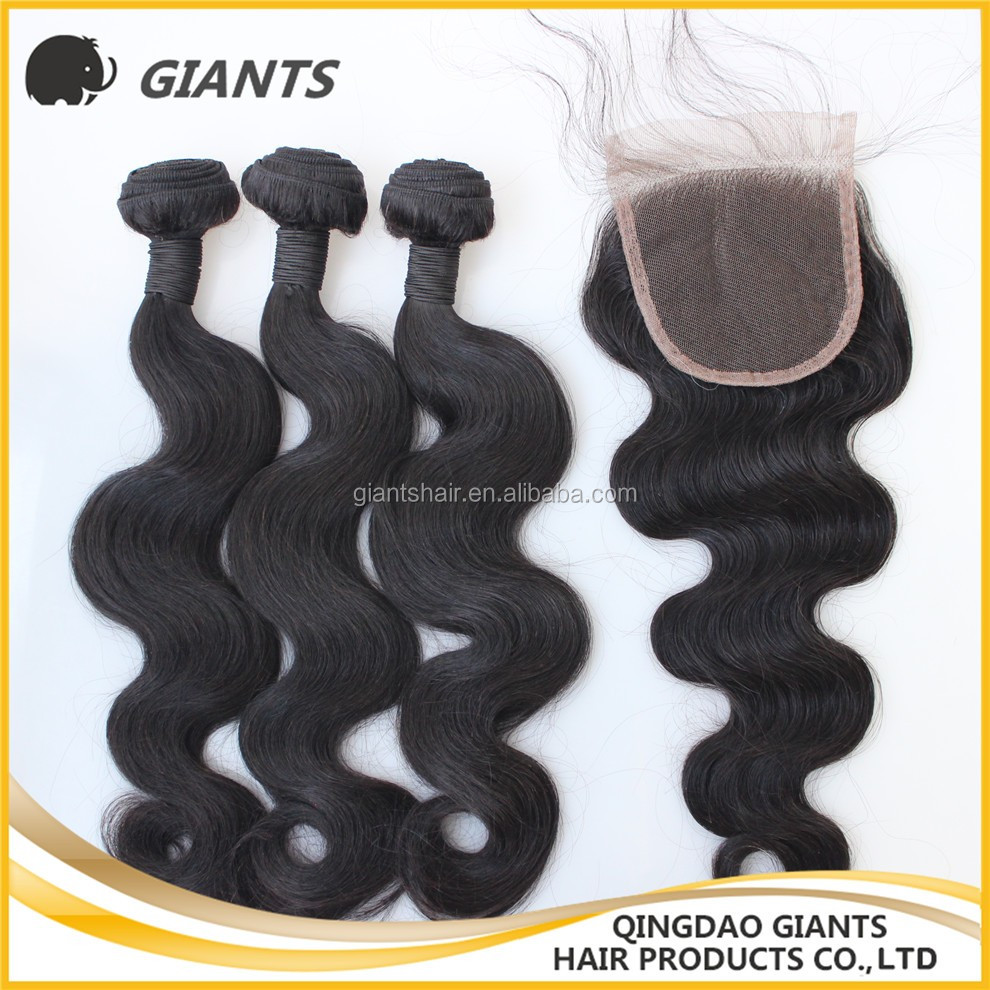 Giants unprocessed hard tied hair weft,100% virgin Chinese human hair weft