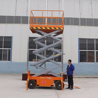 Widely used heavy duty movable scissor lift hydraulic rising platform from Hontylift