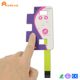 Pressure sensitive touch screen keyboard friction resistant built-in LED light membrane switch control panel