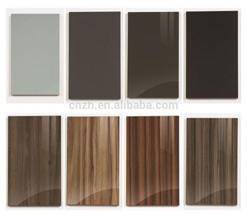 Cheap Mdf Pvc Kitchen Cabinet Door Price