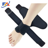 open heel design Breathable Neoprene Compression ankle support Brace for Sport Injuries recovery