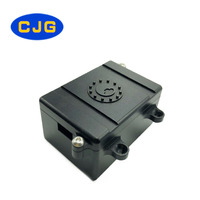 CJG Fuel Cell Radio Receiver Hide Electronics Box RC Car Parts for 1/10 Axial SCX-10 RC4WD Black