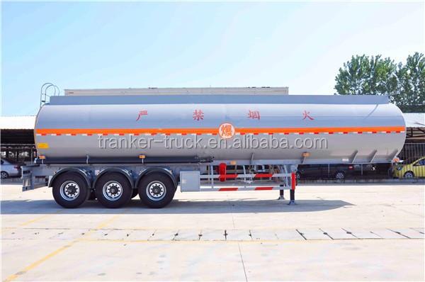 2 Or 3 Bpw Axle Transport Car Trailers Fuel Tanker Semi Trailer ...