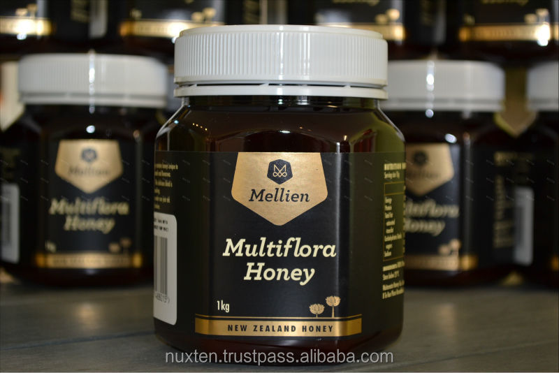 new zealand honey_pure honey_Mellien Multiflora Honey 1Kg