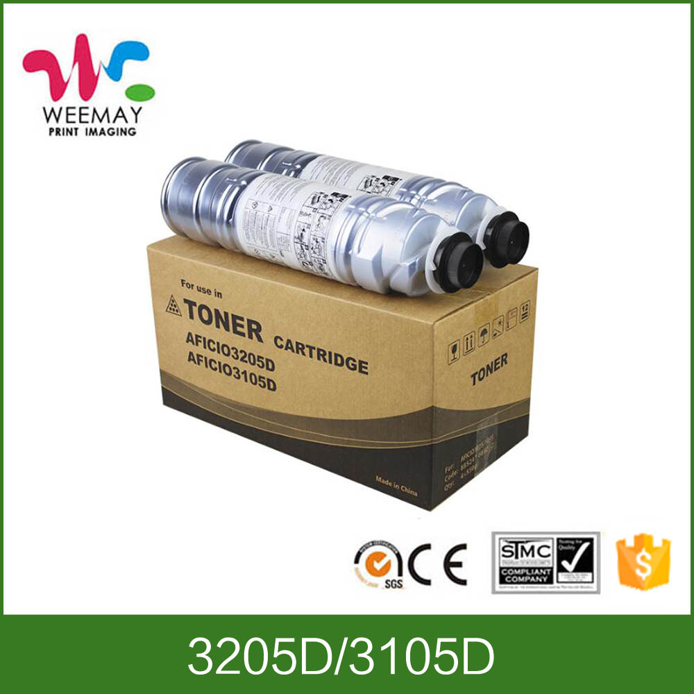 Used copiers toner compatible for Ricoh 3105D toner cartridge