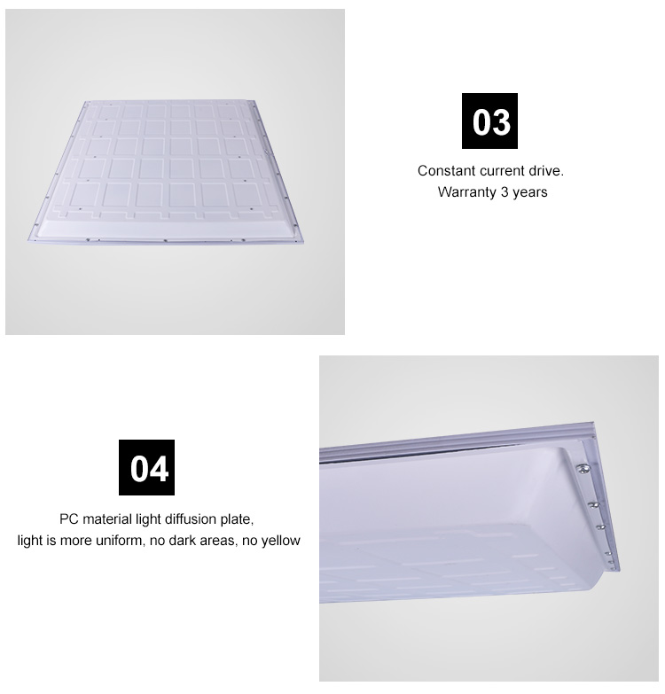 New hot products 48W 600MM square Slim recessed mounted SMD LED Panel Light