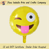 Hot selling 18inch tongue thrust emoji balloon for shop promotion activities