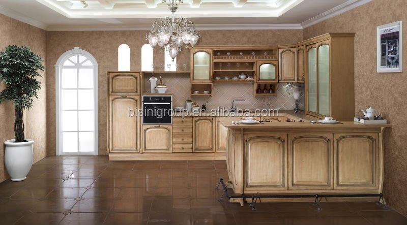 Estilo De País Diseño Muebles De Cocina,Gabinete De Cocina De Madera ...