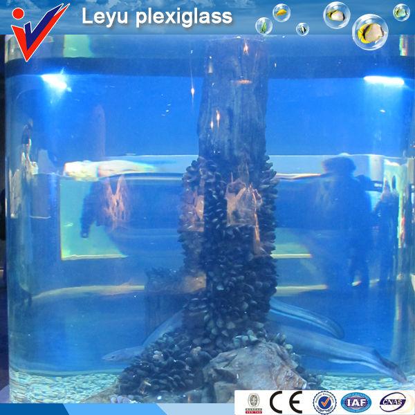 Customize Acrylic Cylinder Aquarium Tanks