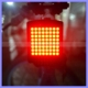 64 LED Remote Control Laser Bicycle Tail Light Safety Turn Signal Bike Light