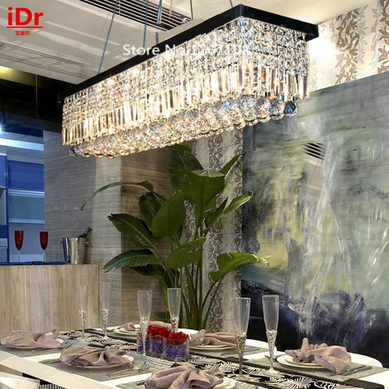Length 1500mm Restaurant Lamps Creative Rectangular