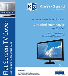 """Kleer-Guard Flat Screen TV Cover. 65""""x36"""" Fits Up To 60"""" Flat Screen TV"""