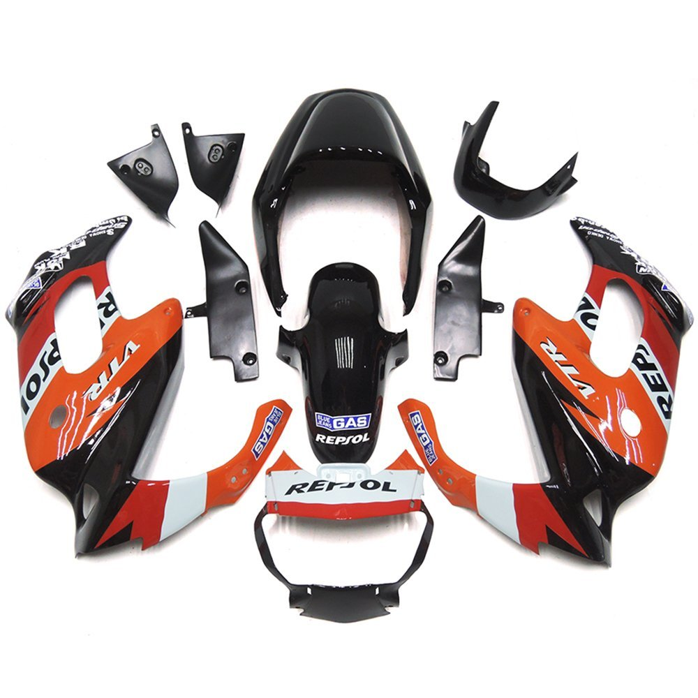 Sportfairings Repsol ABS Body Kits Motorcycle Fairing Kits For Honda VTR1000F 97 - 05 Year 1997 1998 1999 2000 2001 2002 2003 2004 2005