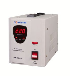 Copper Wire Voltage Stabilizer, power servo motor type voltage stabilizer, scr avr 30 kva