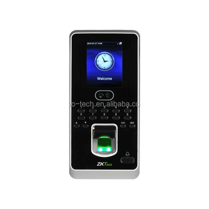 MultiBio 800 Face and Fingerprint Time Attendance Access Control ZK software