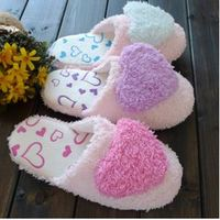 New arrival winter warm women Indoor slippers lover unisex Slippers Shoes