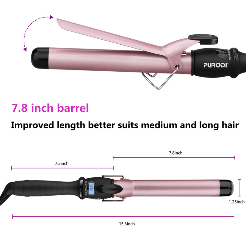 professional hair curling wand iron wave magic balance hair curler
